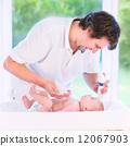 father, care, newborn 12067903