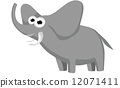 elephant cartoon 12071411