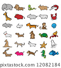zoo, cute, cartoon 12082184