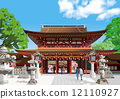 dazaifu tenmangu shrine, vector, vectors 12110927