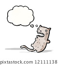 funny cartoon cat (raster version) 12111138