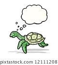 cartoon sea turtle 12111208