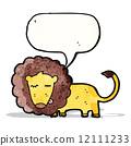 cartoon lion 12111233