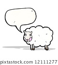 cartoon sheep 12111277