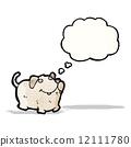 little dog cartoon 12111780
