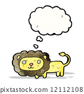 cartoon lion 12112108