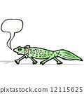 salamander, cartoon, art 12115625