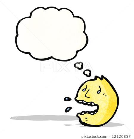 Panic Face Symbol Stock Illustration 12120857 Pixta