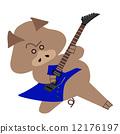 guitar, guitars, pig 12176197