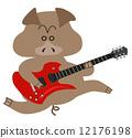 guitar-pig02 12176198