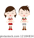脆饼 小孩 较年轻 12184834