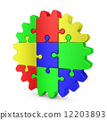 gear  colored puzzles 12203893
