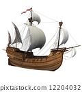 caravel, vessel, wave 12204032