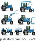 crawler tractor excavator 12205520