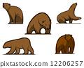 벡터, 동물, 짐승 12206257