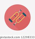 aid, cane, crutch 12208333