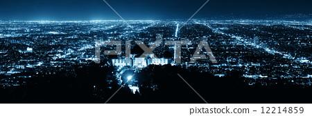 Los Angeles at night 12214859