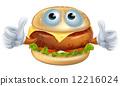 汉堡 奶酪 芝士 12216024