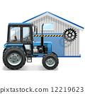 農場 拖拉機 農業 12219623