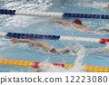 爬行 女性 游泳 12223080