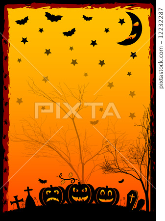 Holiday illustration on theme of Halloween. Wishes for Happy Halloween. Trick or treat 12232287