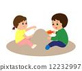 玩沙 小孩 孩子 12232997