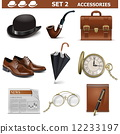 Vector Male Accessories Set 2 12233197