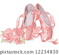 Beautiful ballet slippers 12234830