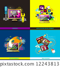 graphic, app, banner 12243813