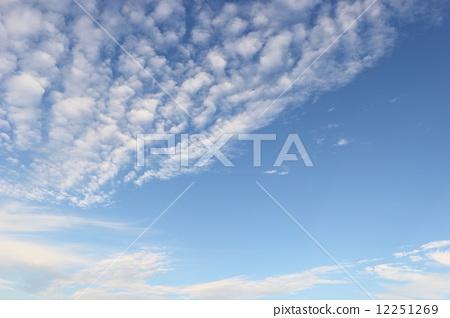 秋天的天空 云彩 云 12251269