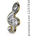clef musical note 12257836