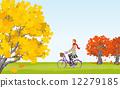 cycling, vector, vectors 12279185
