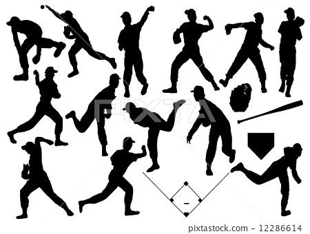 pitcher, baseball, baseballs 12286614