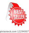 bestseller, illustration, label 12294007