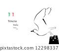 vector, venice, illustration 12298337