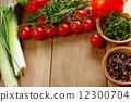 야채, 채소, 배경 12300704