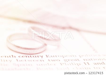 Seamless romantic background. Wedding 12317415