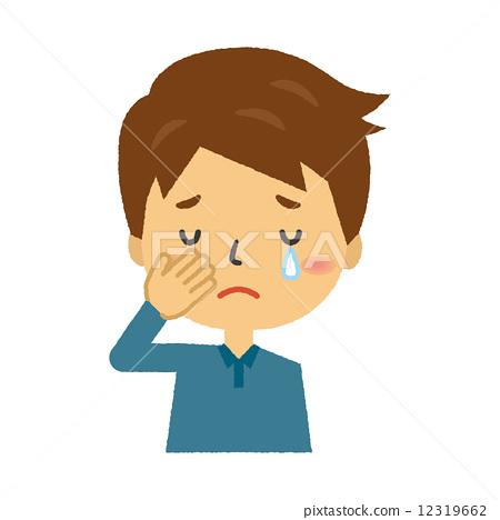 Male crying sad 12319662
