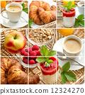 croissant, breakfast, coffee 12324270