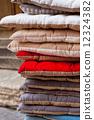 linen, pillows, chair 12324382
