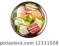 生鱼片 刺身 鱼 12331508