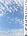 가을, 하늘, 푸른 12335495