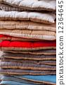 linen, pillows, vertical 12364645