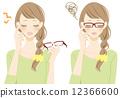 眼鏡 洞察力 審判 12366600