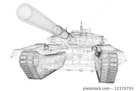 military tank 12370793