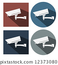 CCTV Camera Icon Symbol Vector 12373080