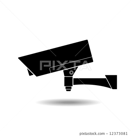 CCTV Camera Icon Symbol 12373081