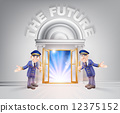 future, background, cartoon 12375152
