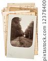 postcard, sheet, antique 12378400