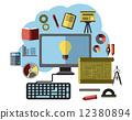 search, flat, idea 12380894
